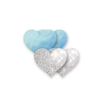 Something Blue Heart - Silver & Blue