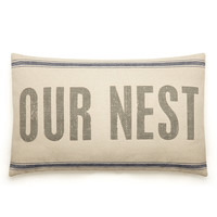 Pillow - Our Nest at The Knot Wedding Shop