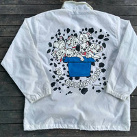 101 Dalmatians windbreaker Walt Disney animation cute Dog vintage