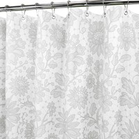 Watershed by Park B. Smith Floral Lace Fabric Shower Curtain