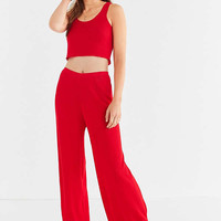 UO Cropped Ribbed Sweater Tank Top | Urban Outfitters