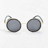 Jeepers Peepers Hunter Round Sunglasses- Black One