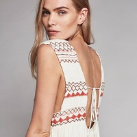 Free People Embroidered Simply Dress