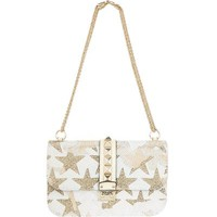 Valentino Medium Rockstud Embellished Lock Bag