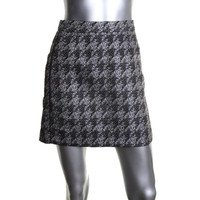 Marc by Marc Jacobs Womens Woven Contrast Trim Pencil Skirt