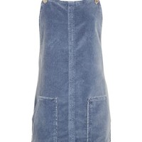 MOTO Velvet Pinafore Dress - New In Fashion - New In