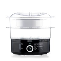 BELLA 7.4 Quart Healthy Food Steamer, Dual Basket