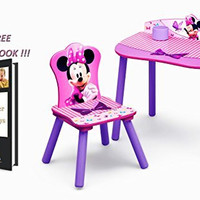 Minnie Mouse Desk & Chair Set