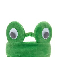 Googly Eye Frog Headband