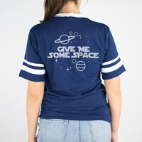 Give Me Space Varsity Shirt