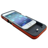 Best Iphone 5 Battery Case Rechargeable External Power Charge Backup 2500mAh (Red)