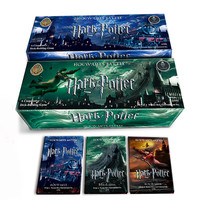 408 PCS/SET Movie Harry Potter Cards Game , Funny Board Game English Edition , Collection Cards For Children Gift