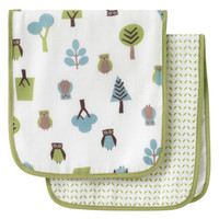 Owls Multi Burp Cloth Set