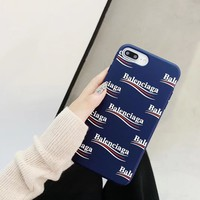 BALENCIAGA Case for iPhone 6 7 8 Plus X XS XR MAX