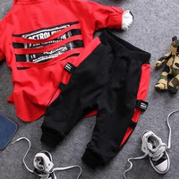 Loose Comfortable Boys Two Piece Outfit