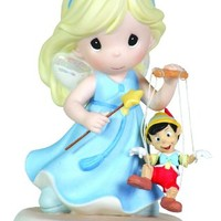 "Precious Moments, Disney Showcase Collection, ""Your Love Brings Out The Good In Me"", Bisque Porcelain Figurine, 111021"