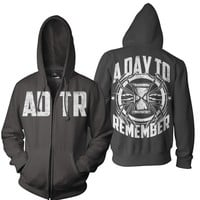 A Day To Remember: Spider Zip Up Hoodie