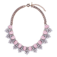 Frosted Peony Necklace