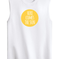 Here Comes The Sun Graphic Tank