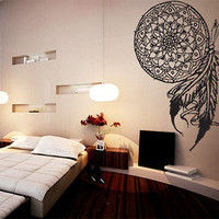Dream Catcher Vinyl Wall Decal Sticker Art Indian Native American Decor Outdoor
