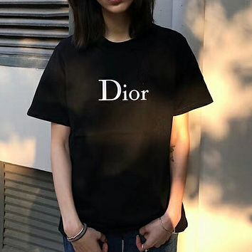 Dior Women Simple T-shirt