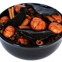 Pumpkin and Crow Bowl Filler Potpourri