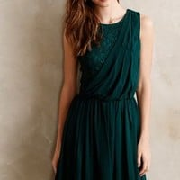 Evergreen Draped Dress by Beyond Vintage Green