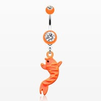 zzz-Koi Fish Belly Button Rings