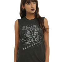 Harry Potter Solemnly Swear Banner Girls Muscle Top