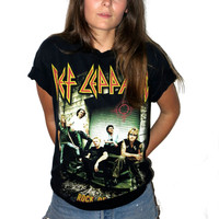 Def Leppard Rock of Ages Tour tee