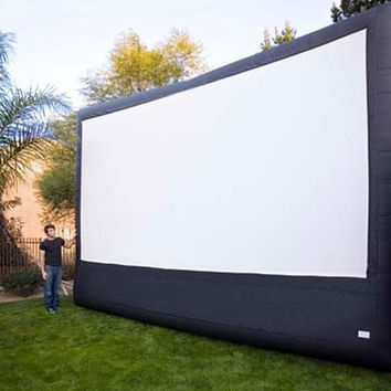 Open Air Cinema 16' Pro Screen Home / Outdoor Theater System