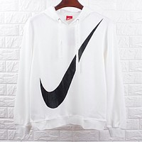 N NIKE Autumn Winter Fashion Big Logo Print Hoodie Top Sweater Sweatshirt