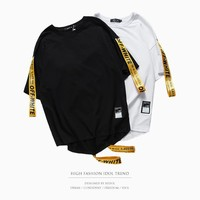 Off White stripe Tshirt Men