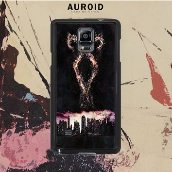 The Mortal Instruments City Samsung Galaxy Note 3 Case Auroid