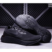 NIKE Free Rn Fashion socks shoes fly line running shoes F-CSXY full black