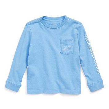 Vineyard Vines 'Vintage Whale' Graphic Long Sleeve T-Shirt (Toddler Boys & Little Boys) | Nordstrom