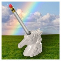 Unicorn Pencil Sharpener| Funny Office Gift, Cute Desk Accessory, Girly Office, Stocking Stuffer | Catching Fireflies