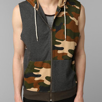 Urban Outfitters - BDG Camo Sleeveless Hoodie