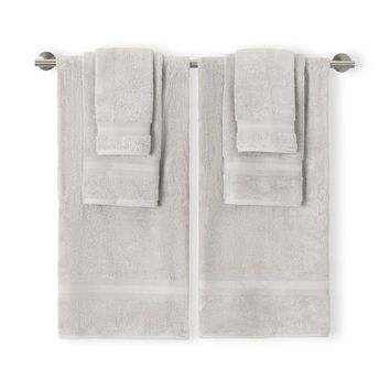 Airplush Silver 6Pc Towel Set | Overstock.com Shopping - The Best Deals on Bath Towels