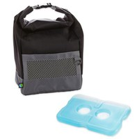 Fit & Fresh® Sporty Insulated Lunch Bag with Ice Pack in Black