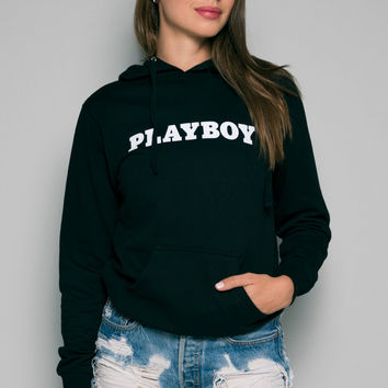Playboy Basics Pullover Hoodie