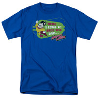 Mighty Mouse Here I Come Adult T-Shirt