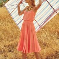 Peachtree Dress by Paper Crown Peach