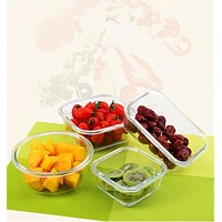Borosilicate Glass Food Container