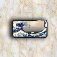 Dream colorful Dream colorful Great Wave Kanagawa Vintage Japanese Art Plastic Case Cover for Apple