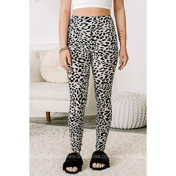 All The Possibilities Soft Brushed Cheetah Print Leggings