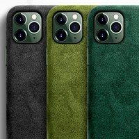 Soft Suede Leather iPhone 11 Pro Max Case