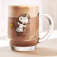 Peanuts Glass Mug