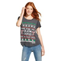 Four For You Glen Coco Holiday Graphic Tee Heath... : Target