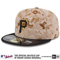 Pittsburgh Pirates 2015 Authentic Collection On-Field 59FIFTY Alternate 3 Cap - MLB.com Shop